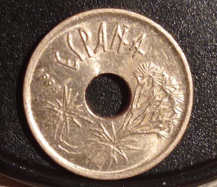 25 pesetas islas canarias 1994