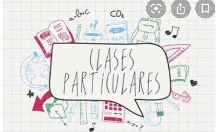 Clases particulares primaria/secundaria