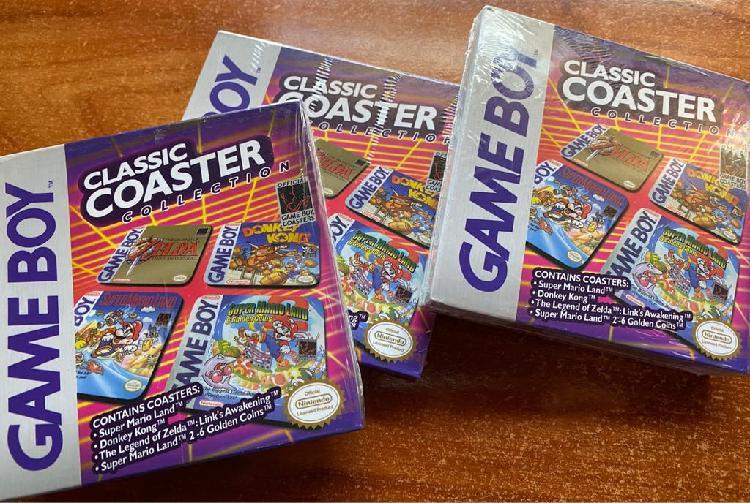Classic coaster collection nintendo !nuevo¡