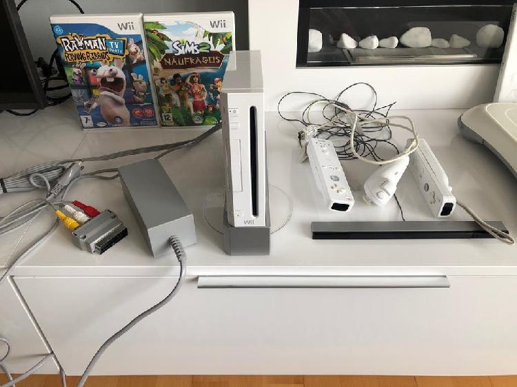 Consola wii completa con mandos y juegos