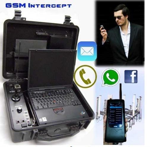 Equipos para espiar moviles celulares