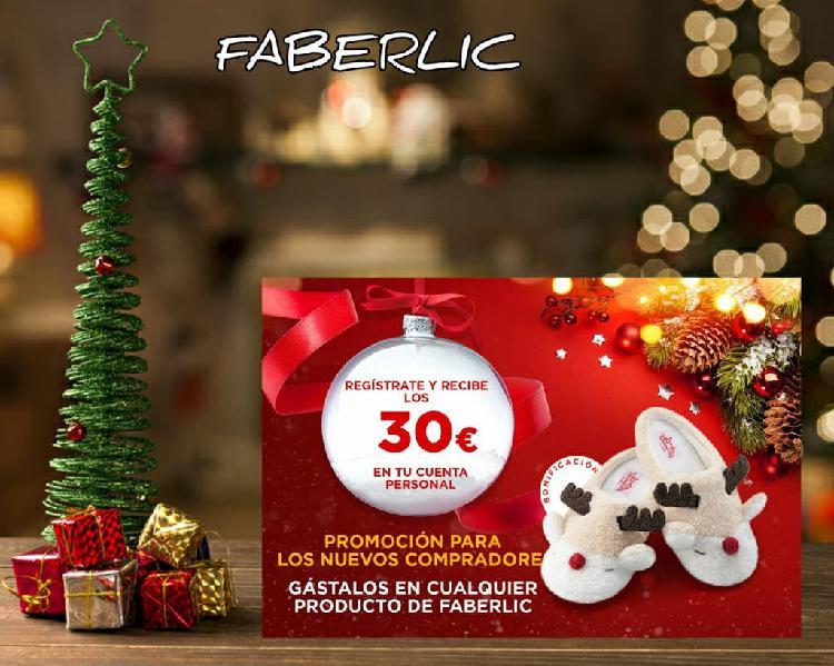 Faberlic 30€ gratis