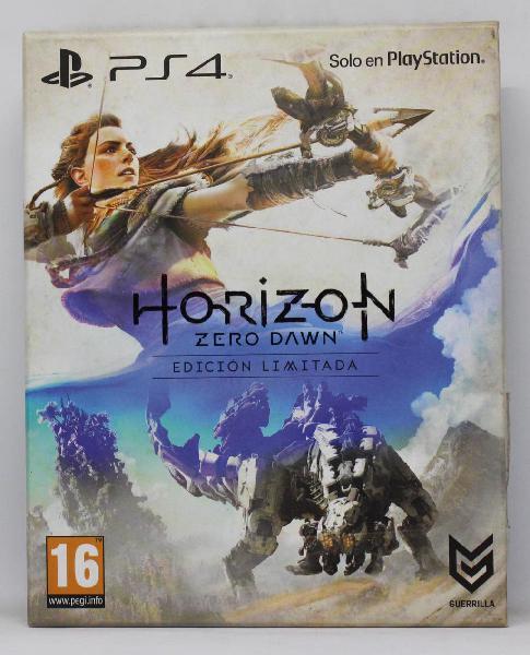 Horizon zero dawn edicion limitada ps4 pal españa