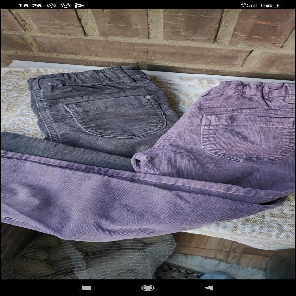 Lote pantalones niña