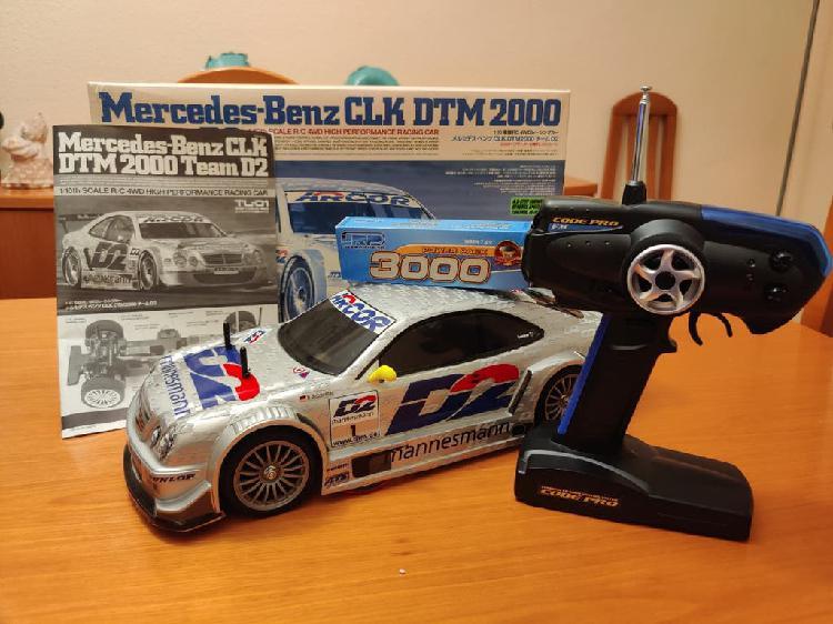 Mercedes benz clk tamiya chasis tl-01 como nuevo
