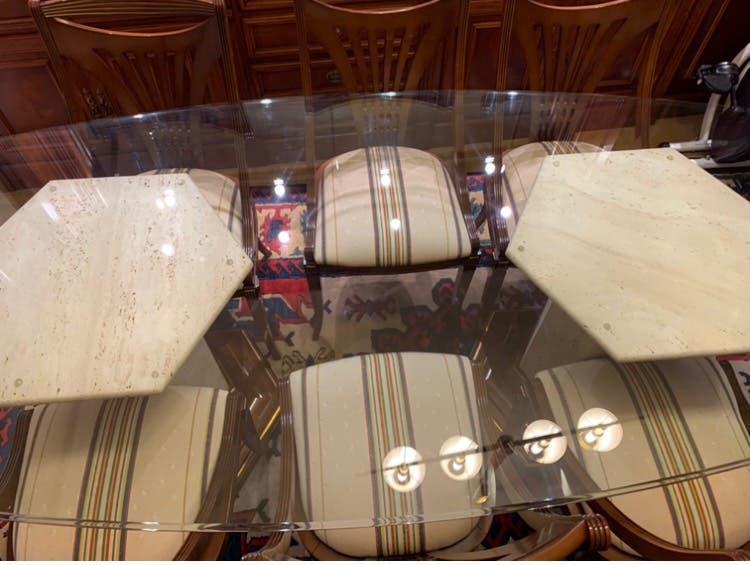 Mesa de cristal 2 x 1 metro