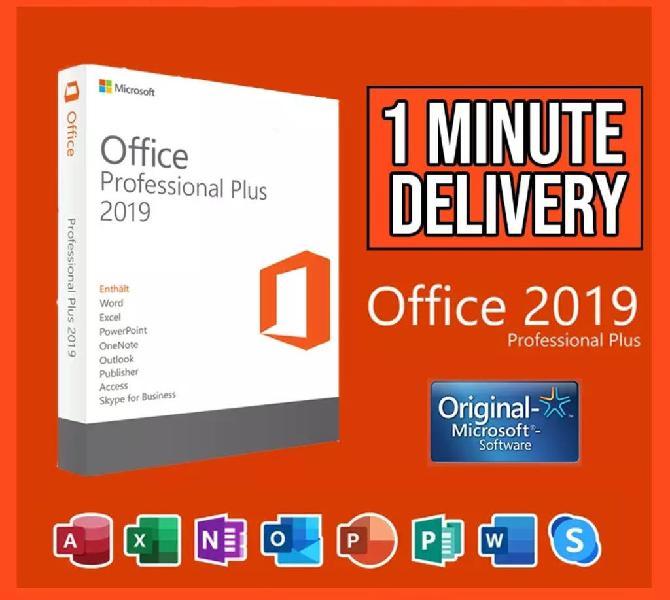 Microsoft office plus 2019