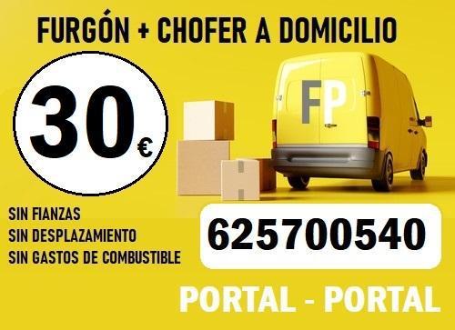 Portes ascao (625700-540) furgón por horas