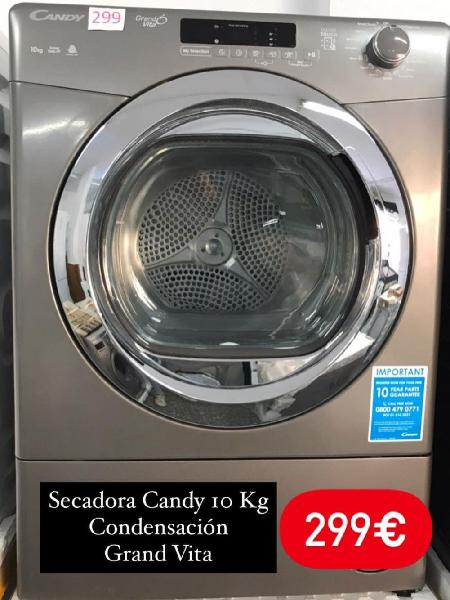 Secadora candy grand vita inox 10 kg