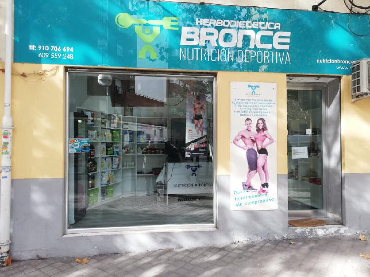 Traspaso tienda nutricion