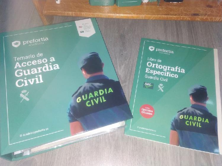 Temario guardia civil actualizado