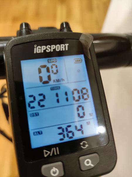 Cuentakilómetros igs20e gps - dos usos