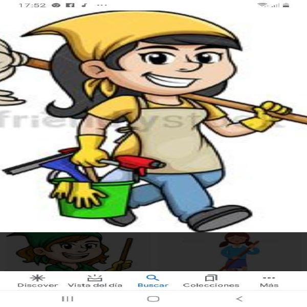 Limpieza de casas .oficinas por horas
