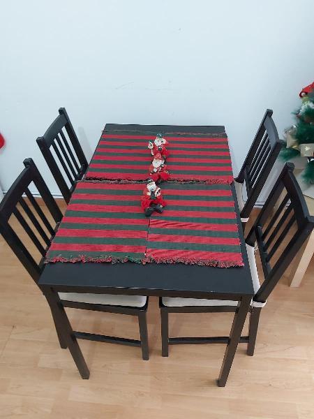 mesa y sillas comedor ikea