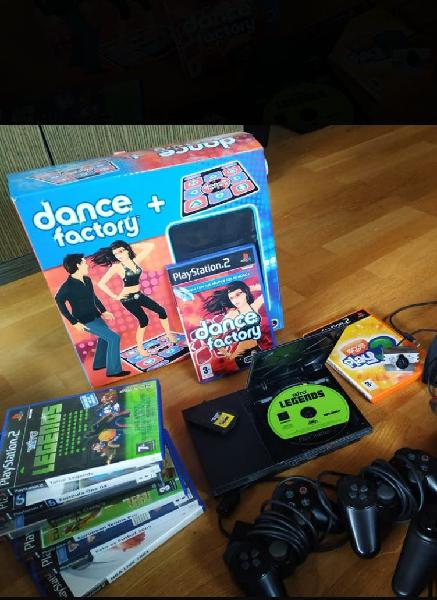 Play station2 con juegos!!!