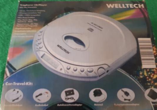 Cd player portatil / cd reproductor portatil wellt