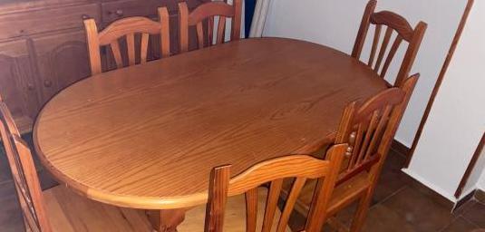 Muebles estilo provenzal de madera maciza