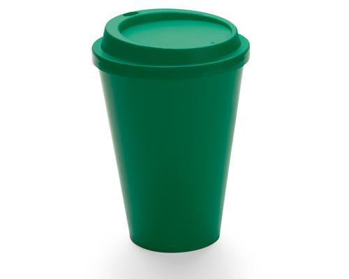 Vaso con tapa 420ml **