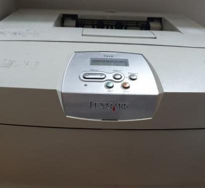 Impresora láser lexmark t430