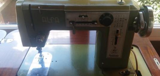 Maquina coser alfa rotomatic