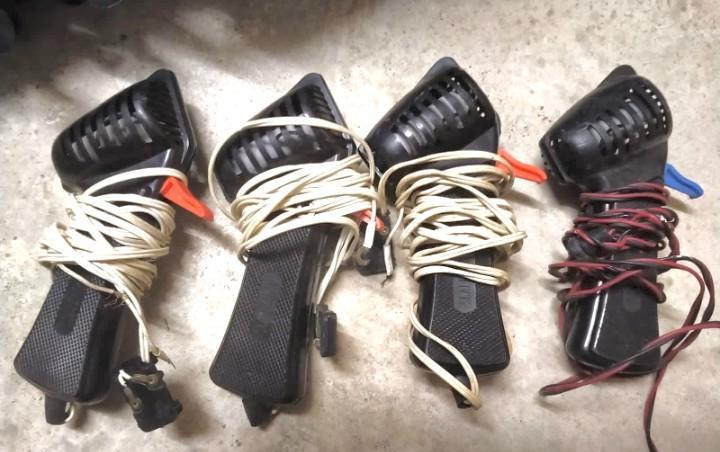 4 controles manuales de velocidad scalextric mandos