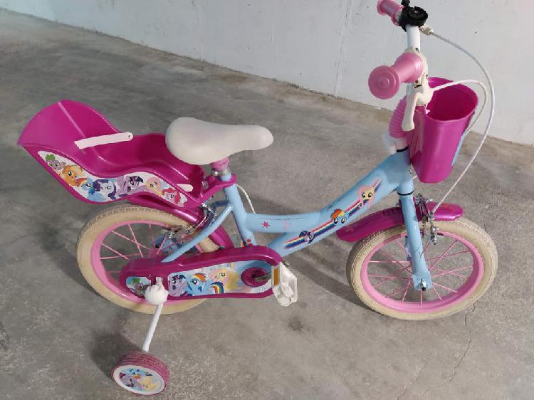 """Bicicleta niña de 14"""" pulgadas"""