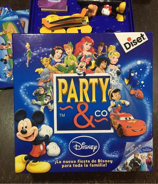 Juego de mesa: party & co disney