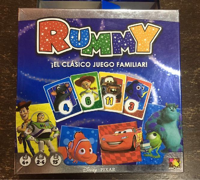 Juego de mesa: rummy disney
