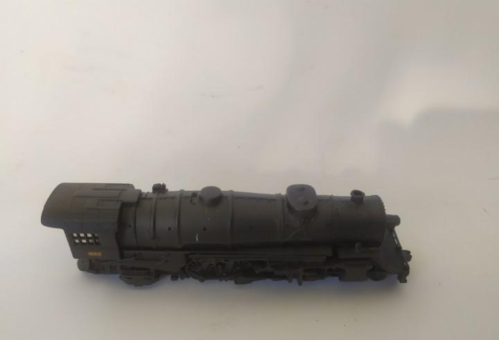 Locomotora cil escala 1:160 n locomotora negra 1662
