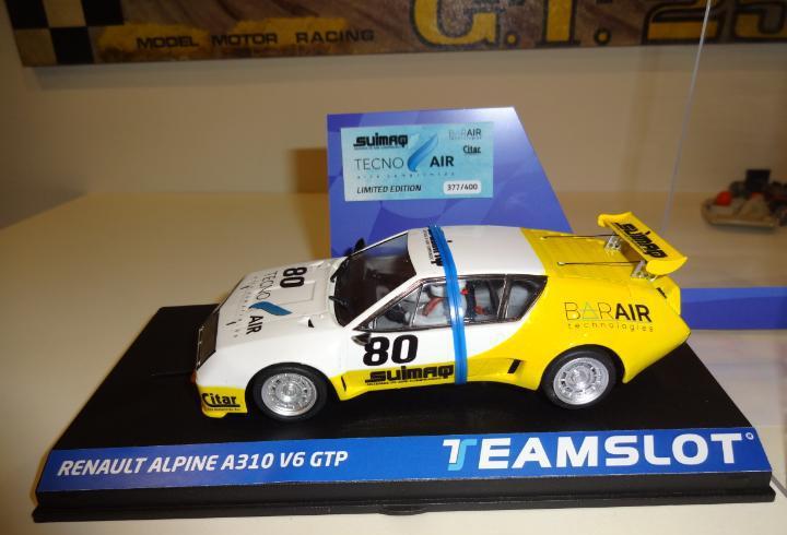 Novedad!!. team slot. renault alpine a310 a310 v6 gtp.