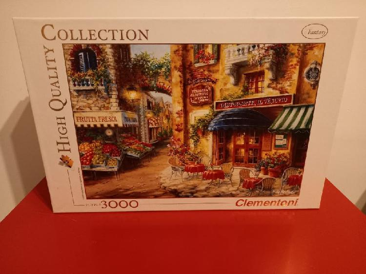 Puzzle clementoni 3000 piezas buon appetito