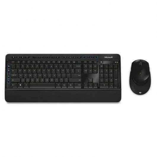 Raton y teclado microsoft wireless desktop 3050