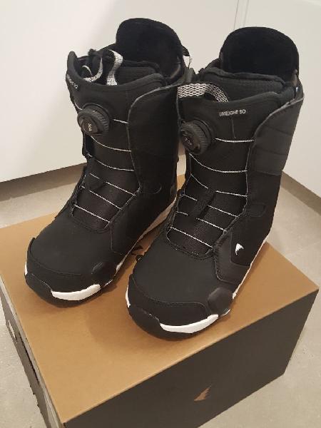 Step on burton botas limeligth y ataduras step on
