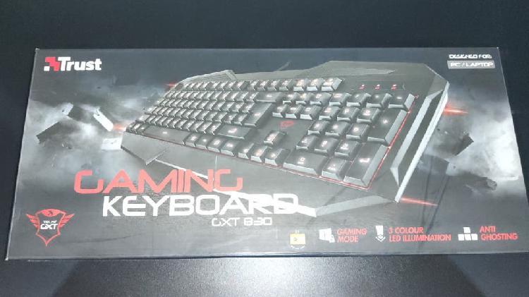 Teclado gaming keyboard gxt 830