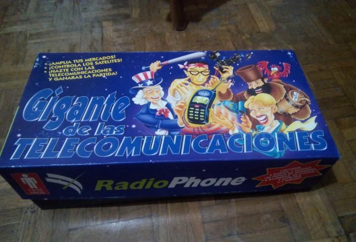 Unico en todo coleccion - juego gigantes telecomunicaciones