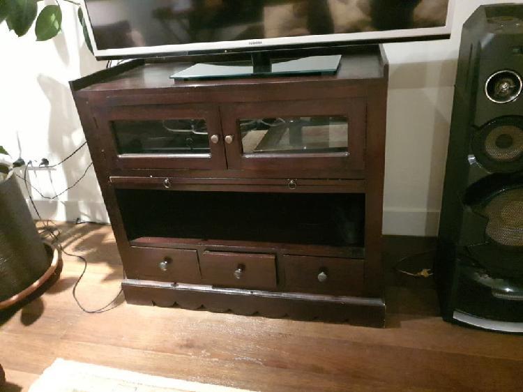 Aparador mueble tv madera