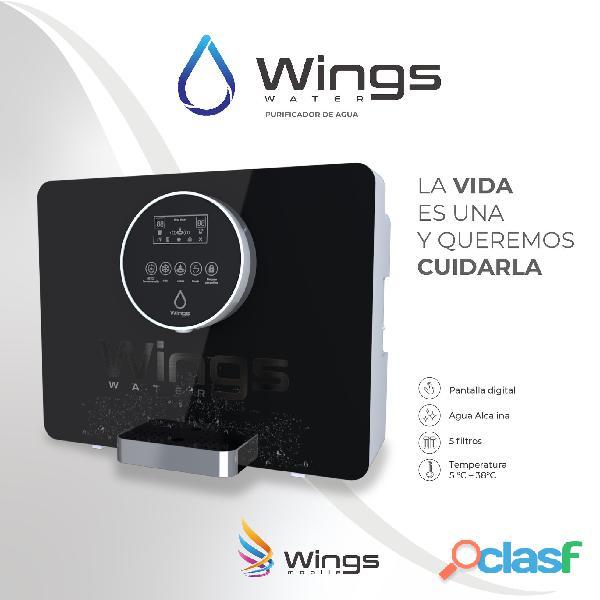 Wings water   reserva sólo con el 50%