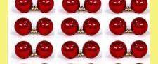 Bolas de navidad (disponible en varios colores, rojo, plata,