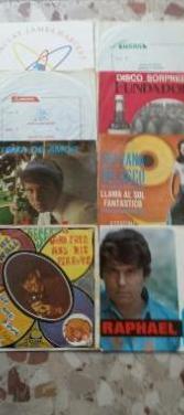Coleccion 12 discos single antiguos