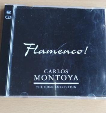 Doble cd. guitarrista flamenco