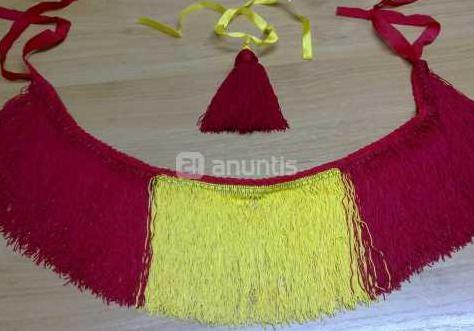 Flecos bandera española para gaita