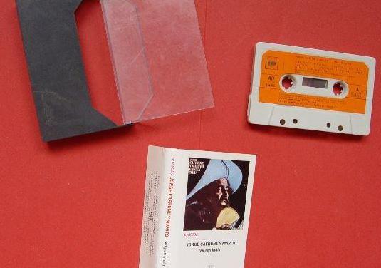 Jorge cafrune (virgen india). cassette (cbs, 1972)