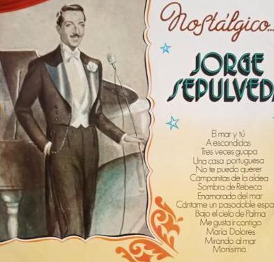 Jorge sepúlveda. lp de vinilo