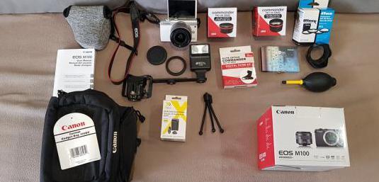 Oportunidad! cámara sin uso canon eos m100