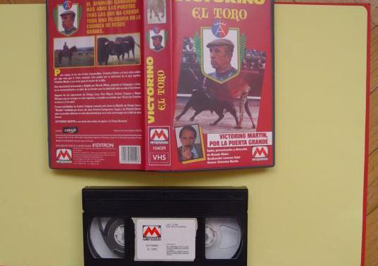Vídeo vhs: victorino. el toro (1990)