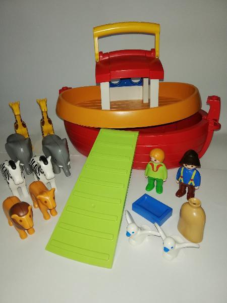 Arca de noé - playmobil 1.2.3 (6765)