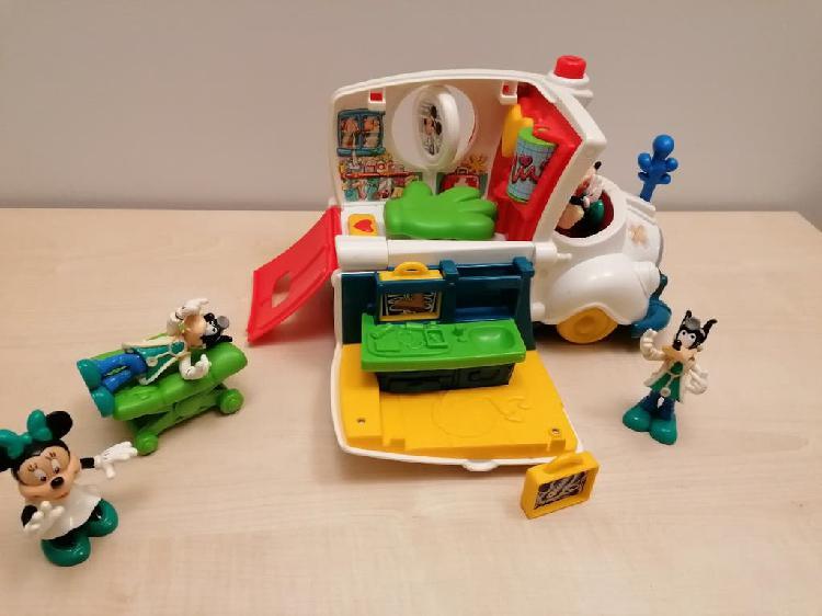 Disney mickey mouse clubhouse ambulancia play set