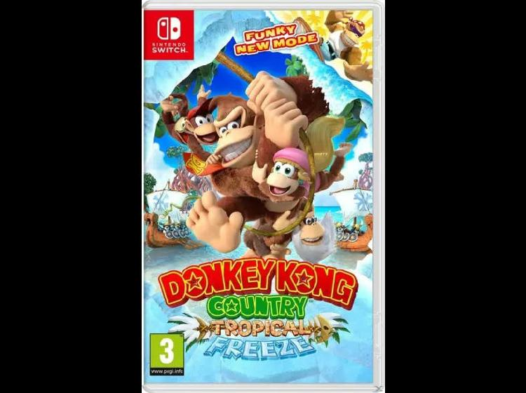 Done kong country: tropical freeze para switch