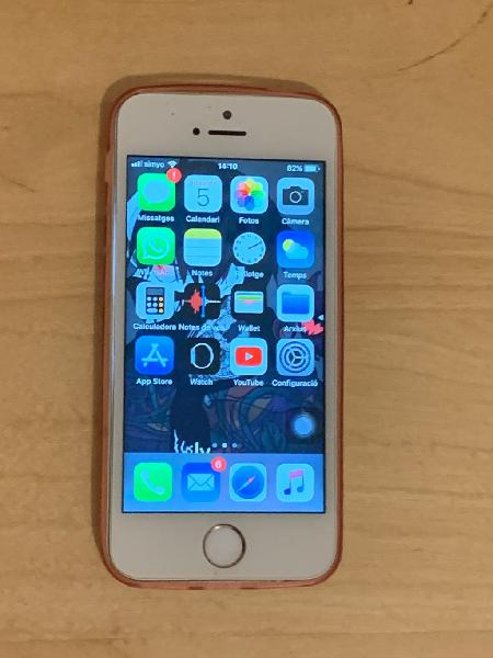 Iphone 5s 16gb gold para piezas pero leer