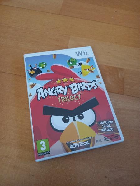 Juego de angry birds para wii